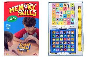 Zeypher Memory Skills Game - Memory board game for children