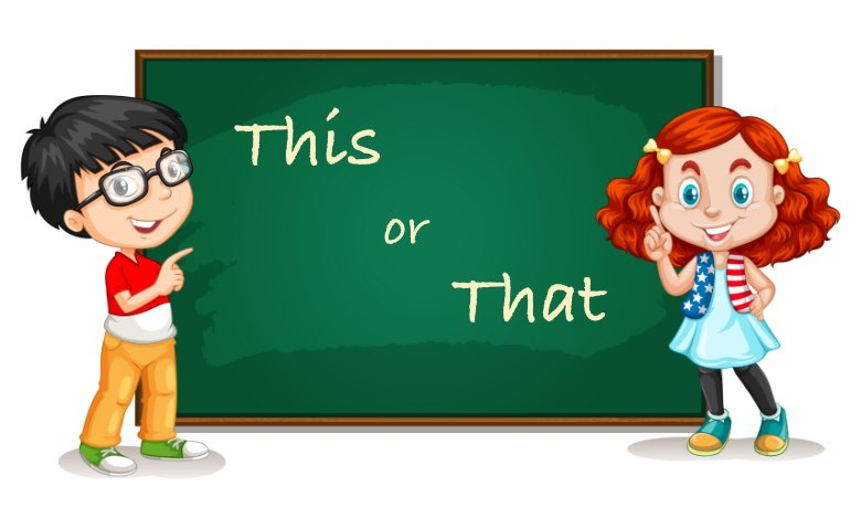 This or That - English worksheet for class 1