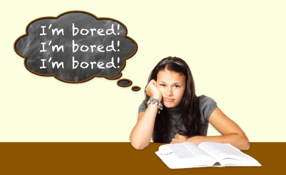 Why is it OK to let your child get bored?